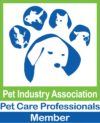 Northern Adelaide Pet Sitters - pet sitter, Pet Industry Association logo.